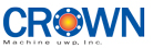 CROWN Machine uwp, Inc. logo, brand